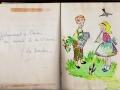 SCJ_Claire Englebert_extrait de carnet de po+®sie_1965